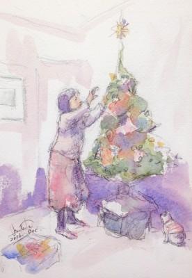 christmastreesetup